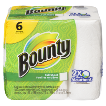 BOUNTY PAPER TOWEL - 6 Pack