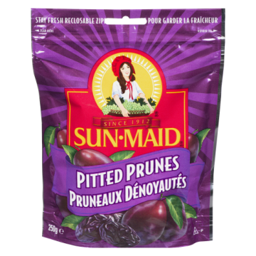 SUNMAID PITTED PRUNES BAG -...