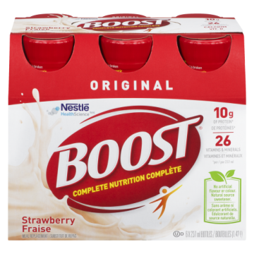 BOOST STRAWBERRY SHAKE...