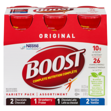 BOOST VARIETY PACK PLASTIC...