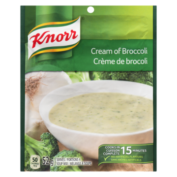 KNORR CREAM OF BROCCOLI -...