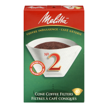 MELITTA NO2 CONE WHITE...