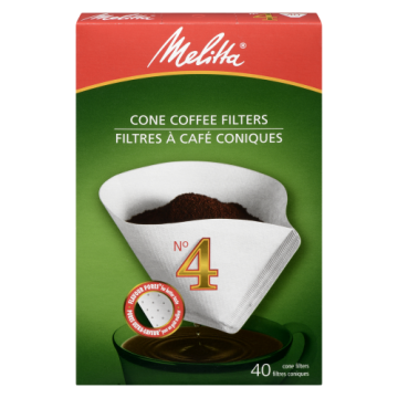 MELITTA NO4 CONE WHITE...