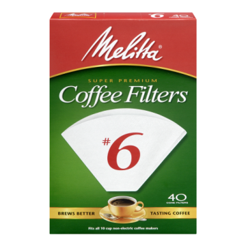MELITTA COFFEE FILTERS 6 -...