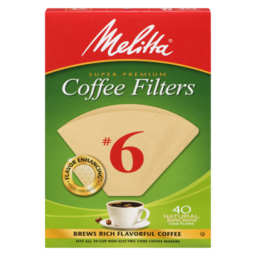 MELITTA COFFEE FILTER NO6...