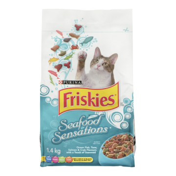 FRISKIES SEAFOOD SENSATIONS...