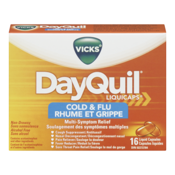 VICKS DAYQUIL COLD & FLU...
