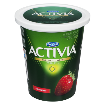 ACTIVIA STRAWBERRY YOGURT -...