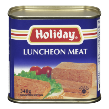 HOLIDAY LUNCHEON MEAT - 340...