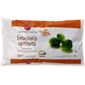 WF BRUSSEL SPROUTS - 750 GR