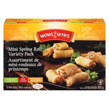 WONG WING MINI SPRING ROLL...