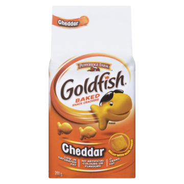 PEPPERIDGE GOLDFISH CHEDDAR...