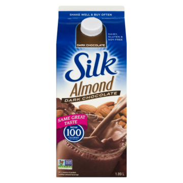 SILK ALMOND BEVERAGE DARK...
