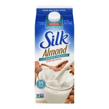 SILK ALMOND UNSWEETENED...