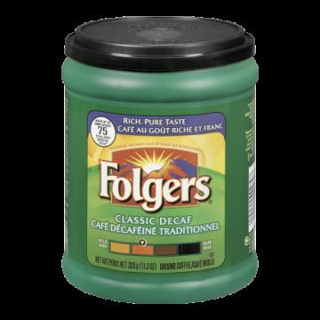 FOLGERS DECAF COFFEE - 320...
