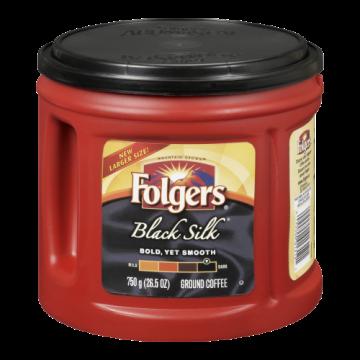 FOLGERS BLACK SILK - 750 Gram