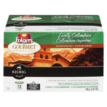 FOLGERS LIVELY COLUMBIAN DECAF