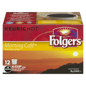 FOLGERS K CUPS MORNING CAFE