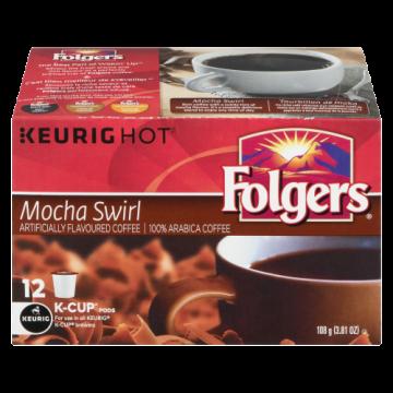 FOLGERS MOCHA SWIRL K CUP