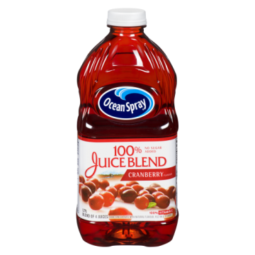 OCEAN SPRAY 100 % CRANBERRY...