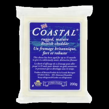 COASTAL CHEDDAR - 200 Gram