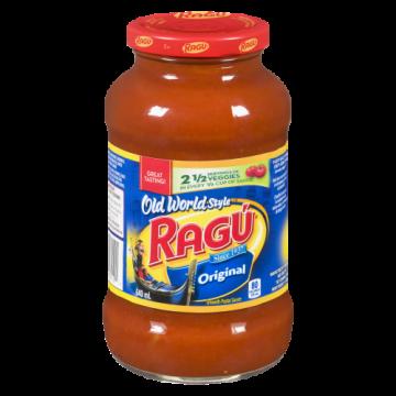 RAGU ORIGINAL PASTA SAUCE -...