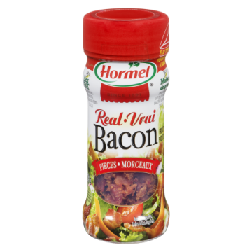 HORMEL REAL BACON PIECES -...
