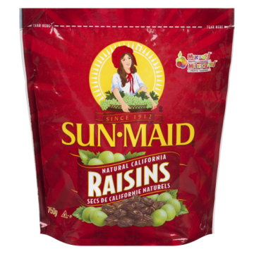 SUNMAID RAISINS - 750 Gram