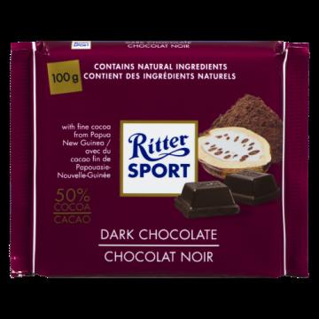 RITTER SPORT DARK CHOCOLATE...