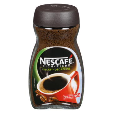 NESCAFE DECAFFEINATED...