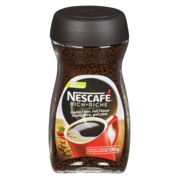 NESCAFE RICH INSTANT COFFEE...