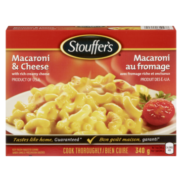 STOUFFER MACARONI & CHEESE...