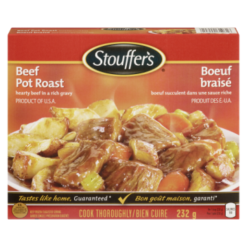 STOUFFERS HOMESTYLE BEEF...