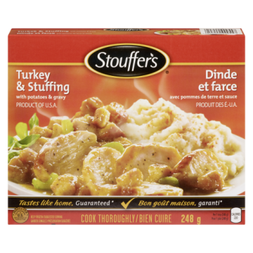STOUFFERS TURKEY & STUFFING...