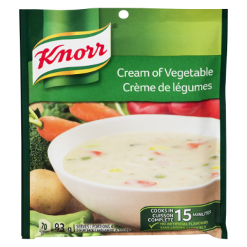 KNORR CREAM OF VEGETABLE...