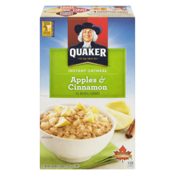 QKR INSTANT OATMEAL APPLE...