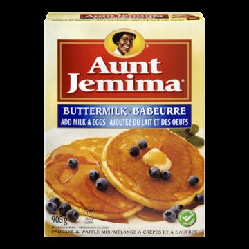AUNT JEMIMA BUTTERMILK...