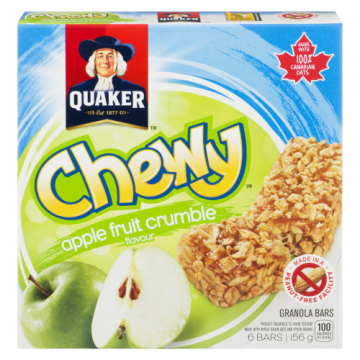QUAKER CHEWY APPLE FRUIT...