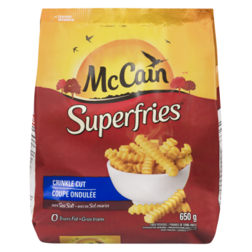 MCCAIN SUPER FRIES CRINKLE...