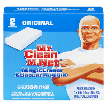 MR CLEAN ERASER 2 PACK
