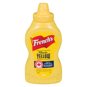 FRENCHS YELLOW MUSTARD -...
