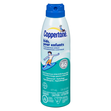COPPERTONE KIDS CONT SPRAY...