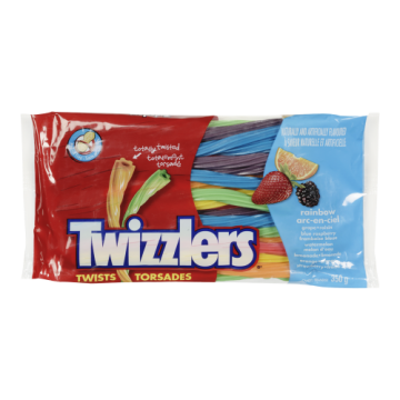 TWIZZLERS RAINBOW LICORICE...