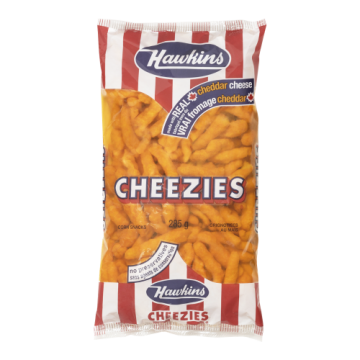 HAWKINS CHEEZIES - 285 Gram