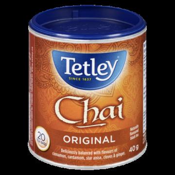 TETLEY CHAI TEA BAGS