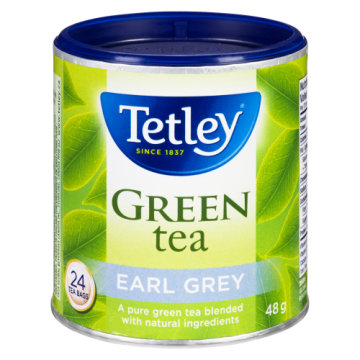 TETLEY EARL GREY GREEN TEA...