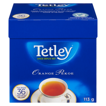 TETLEY TEA BAGS - 36 Pack
