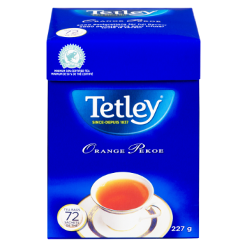 TETLEY TEA BAGS - 72 Pack