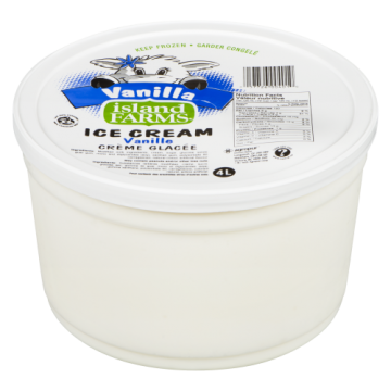 ISLAND FARMS VANILLA ICE...