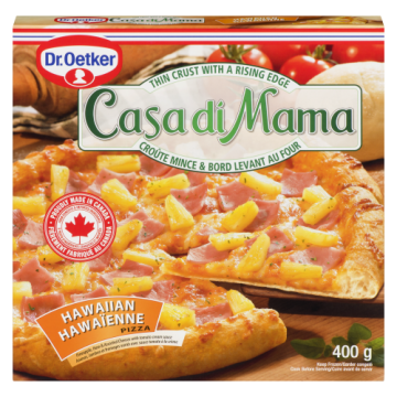 CASA DI MAMA HAWAIIAN PIZZA...